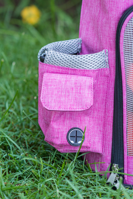 Armarkat Pets Backpack PC301P in Pink and Gray Combo