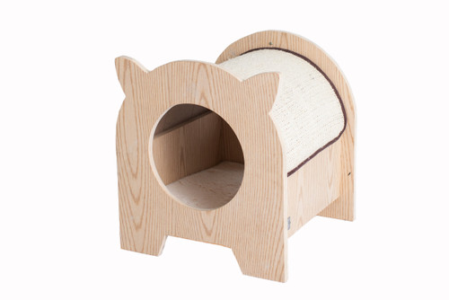 Armarkat Model S1203 Premium Wood Cat Hideaway