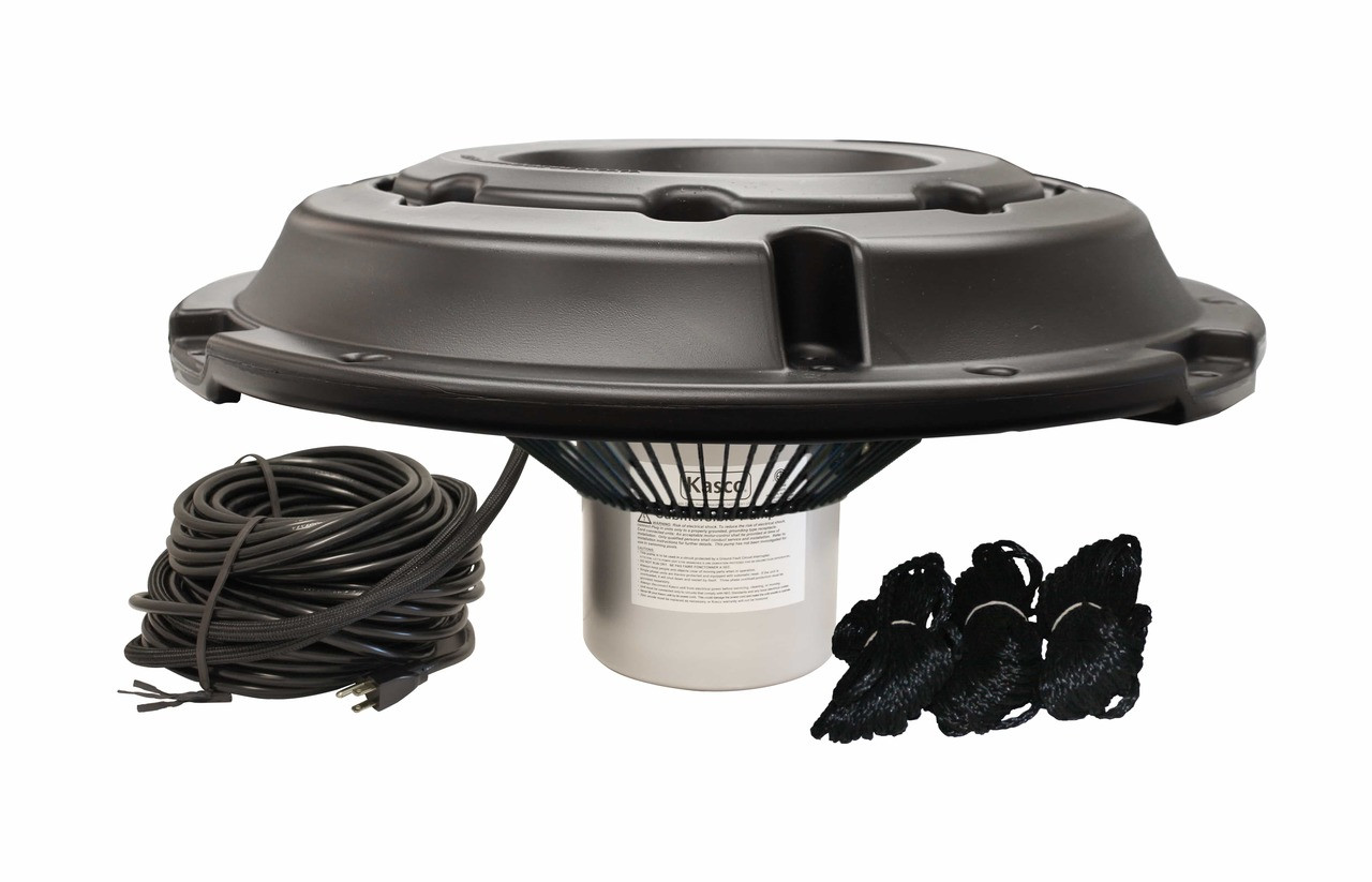 Kasco Marine 2400AF 1/2 HP 120V Aerator w/Float and Optional Bottom Screen Not Included