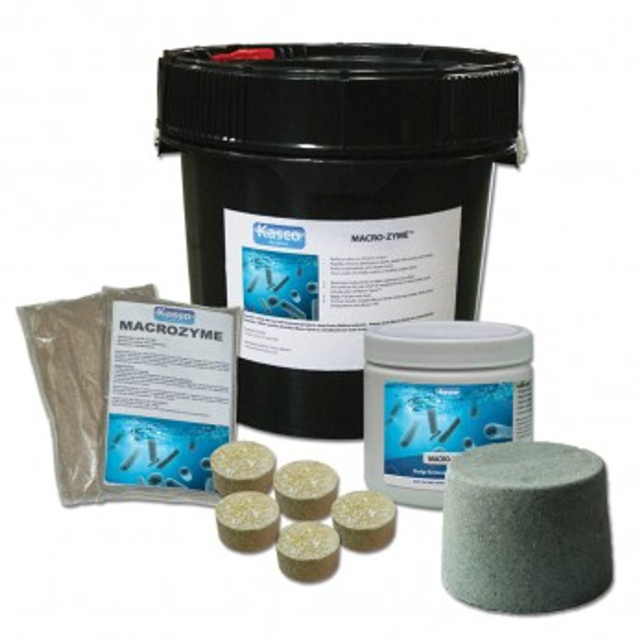 Kasco Marine Macro-Zyme different packages
