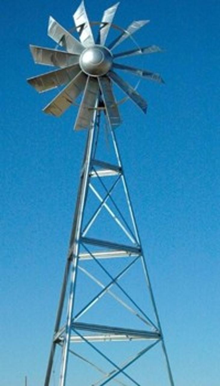 Outdoor Water Solutions Ornamental Windmills (3 Legged Windmills)