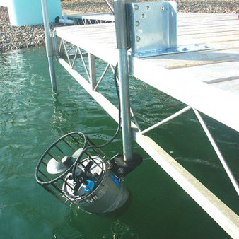 Kasco Marine 4400HCUD 1 HP 240V Circulator with Dock Mount