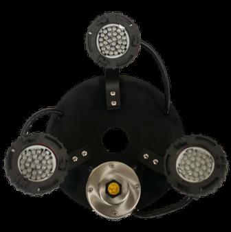 Bearon Aquatics .33 HP 3-3 watt Multi-colored LED w/timer