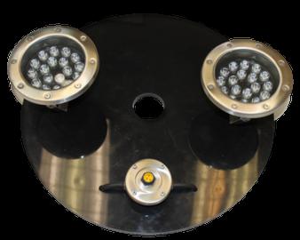Bearon Aquatics .5-1 HP 2-18 watt white LED lights