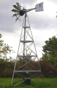 Outdoor Water Solutions 20ft. Deluxe Windmill