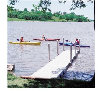 Docks for Ponds and Lakes | Absolute Aquatics | Aeration Equipment