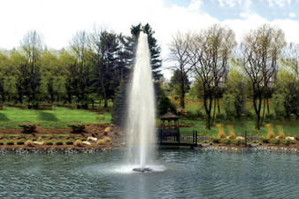 Otterbine Comet Fountain