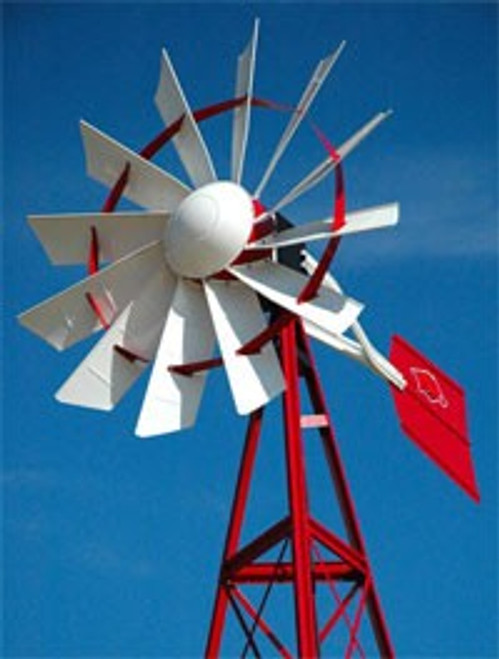 Outdoor Water Solutions Powder Custom Windmills
