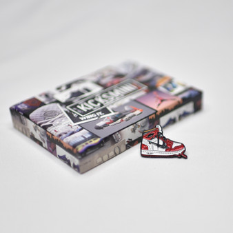 Hypebeast Sneaker Pins - OW AJ1 Chicago