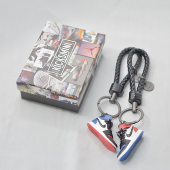 """AJ1 """"Top 3"""" 3D Sneaker Keychain"""
