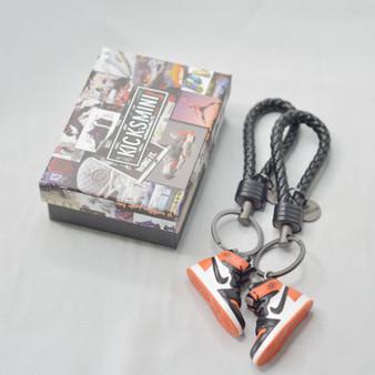 """AJ1  """"Shattered Backboard""""  3D Sneaker Keychain"""