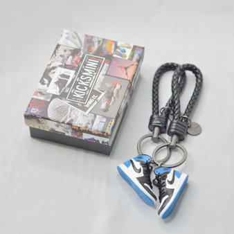 "AJ1  ""Fragment""  3D Sneaker Keychain"