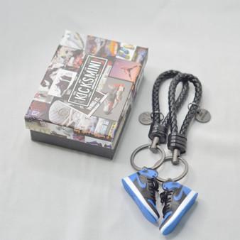 "AJ1 ""Royal"" 3D Sneaker Keychain"
