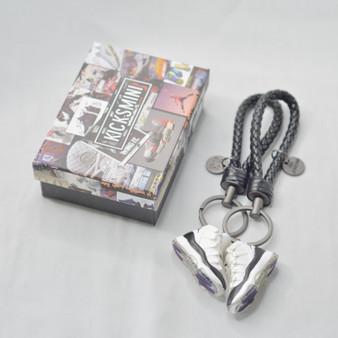 "AJ11  ""Concord""  3D Sneaker Keychain"
