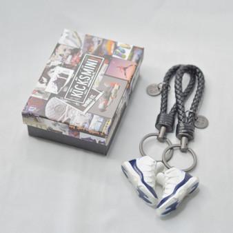 """AJ11  """"Win Like 82""""  3D Sneaker Keychain"""