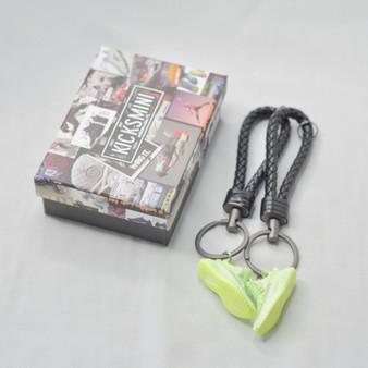 """YZY  """"GLOW""""  3D Sneaker Keychain"""