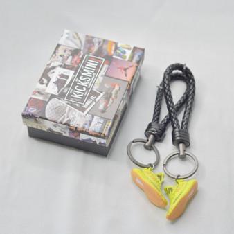 """YZY  """"Semi Frozen Yellow""""  3D Sneaker Keychain"""