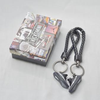 """YZY  """"Oreo""""  3D Sneaker Keychain"""