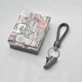 """YZY  """"Red Stripe""""  3D Sneaker Keychain"""