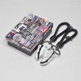 "AJ3  ""Fragment""  3D Sneaker Keychain"