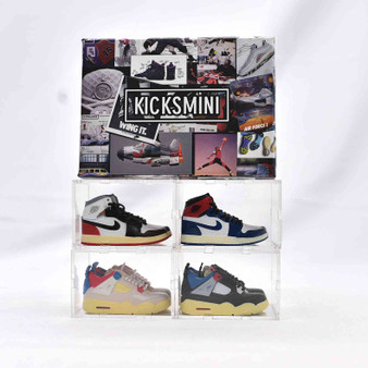"""Union LA"" Mini Sneaker Collection with Display Storage Case"
