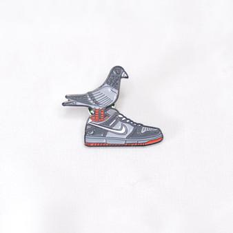 Hypebeast SB Dunk Pigeon Sneaker Pins