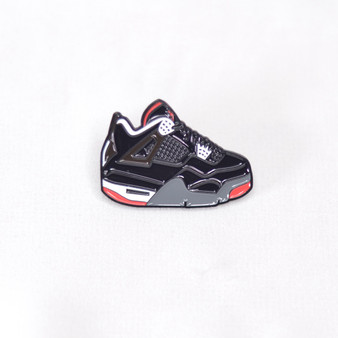 Hypebeast AJ4 Black Cement Sneaker Pins