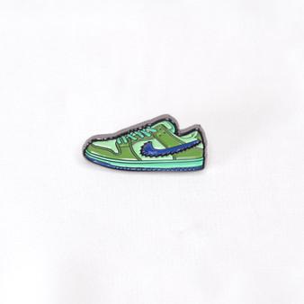 Hypebeast SB Dunk Low Grateful Dead Bears Green Sneaker Pins