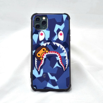 Hypebeast Bape X Shark Camo Inspired iPhone Case