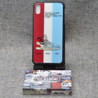 Triple OW Chicago Design Sneaker iPhone Case