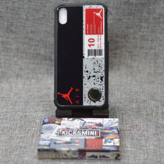 AJ Cement Style Sneakers iPhone Case