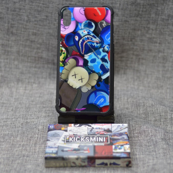 Hypebeast Bape X Kaws Industrial Style iPhone Case
