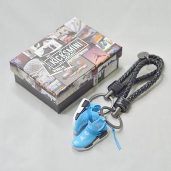 NMD R1 Pharrell HU Being Sharp Blue Sneaker Keychain