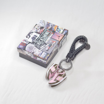 "SB Dunk Low ""Stussy Cherry"" 3D Sneaker Keychain"
