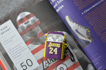 KOBE Lakers 24 Jersey Inspired AirPods Silicon Case
