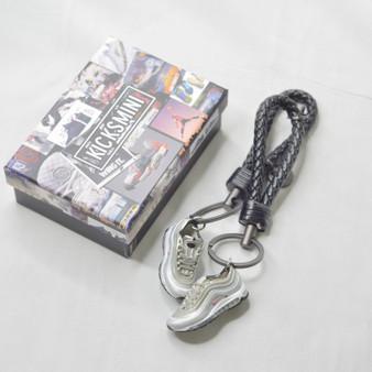 "Air Max 97 ""Silver Bullet"" 3D Sneaker Keychain"