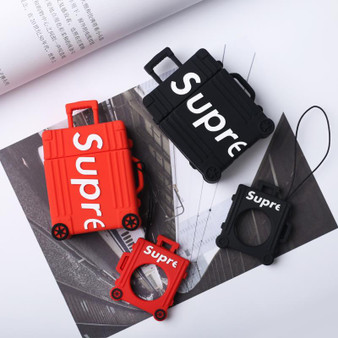 Sup Suitcase Concept Design Airpods Case with Ring Holder