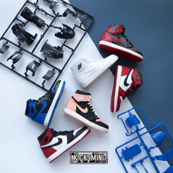 3D Crafted Sneaker Puzzle Building Kit with Display Box