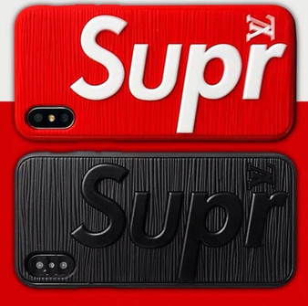 SUPNYC Hypebeast 3D Textured iPhone Cases
