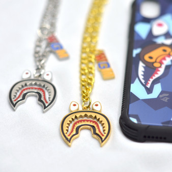 Bape/Shark Inspired Necklace Pendant Charm