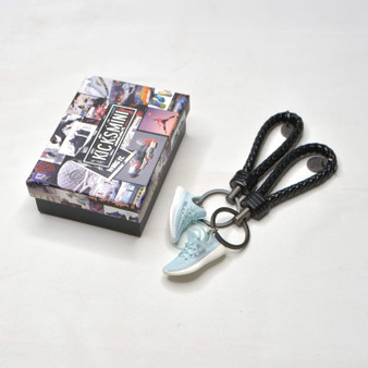 """YZY  """"Cloud White""""  3D Sneaker Keychain"""