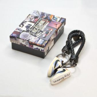 """SB Dunk Low """"Travis Scott x PlayStation"""" 3D Sneaker Keychain"""