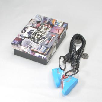 AF 1 Low Off-White MCA University Blue 3D Sneaker Keychain