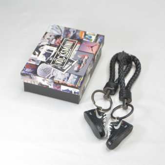 AF1 Low Off-White Black White 3D Sneaker Keychain