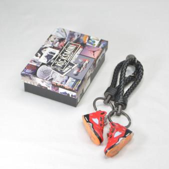 AJ5 Trophy Room University Red (F&F) 3D Sneaker Keychain