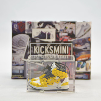 Anime Customs 3D Mini Sneaker Collection with Display Storage Case