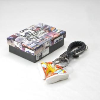 "Anime Customs AJ1 ""GOKU"" 3D Sneaker Keychain"