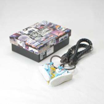 "Anime Customs AJ1 ""VEGETA"" 3D Sneaker Keychain"