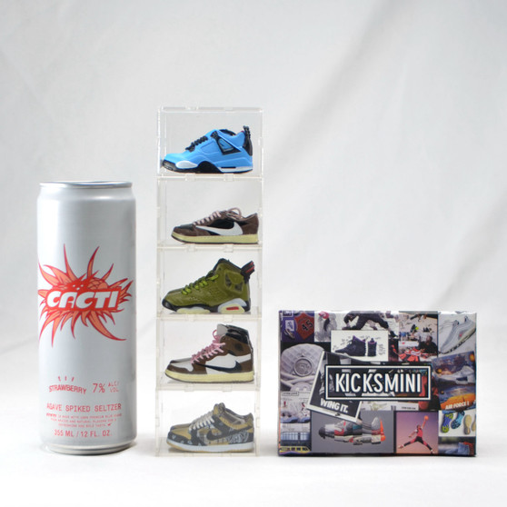 Travis Scott Mini Sneakers Collection with Display Storage Case