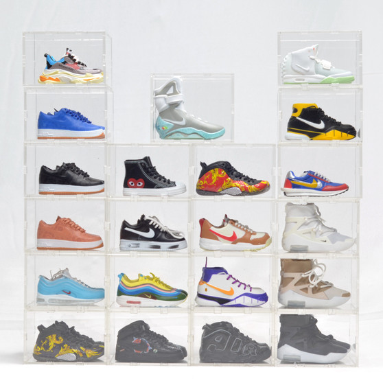 Other Hypebeast Sneaker Mini Sneaker Collection with Display Storage Case